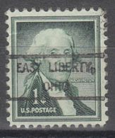 USA Precancel Vorausentwertung Preo, Locals Ohio, East Liberty 807 - Vereinigte Staaten
