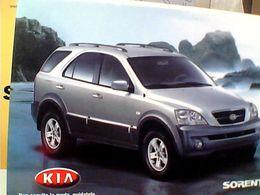 CITRUS 916 AUTO CAR KIA SORENTO  N2004  GO21854 - Publicité