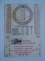 VIÑA DEL MAR CUADRANTE DEL CERO / SCORE SHEET - CHILE, HOJA DE RESULTADOS, 1948 APROX. CASINO. JOYERÍA BELGA. - Programs