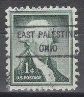USA Precancel Vorausentwertung Preo, Locals Ohio, East Palestine 807 - Vereinigte Staaten
