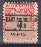 USA Precancel Vorausentwertung Preo, Locals Ohio, East Rochester 734 - Vereinigte Staaten