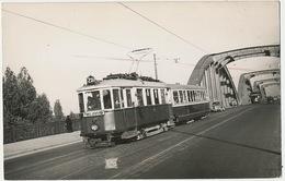 Real Photo Tram  231 Franz Josefs Wien Floridsdorfferbrucke Linie 231 Type M 1955 Tramway - Autres