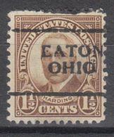 USA Precancel Vorausentwertung Preo, Locals Ohio, Eaton 684-701 - Vereinigte Staaten