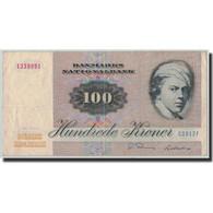 Billet, Danemark, 100 Kroner, 1981, KM:51h, TB - Danemark