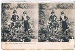 CARTE    ECRITE  A  CONSTANTINE   UN  PASSAGE  DIFFICILE  1T69 - Stereoscopische Kaarten