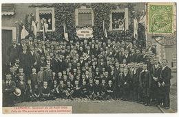 Clemency Souvenir Du 26 Aout 1906 Fete Du 25 Eme Anniversaire Instituteur Timbrée Petange Edit Hamper Pesch Mamer - Cartes Postales