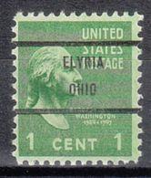 USA Precancel Vorausentwertung Preo, Bureau Ohio, Elyria 804-71 - Vereinigte Staaten