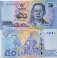 THAILAND       50 Baht       P-119      ND (2016)        UNC  [ Sign. 87 ] - Thailand