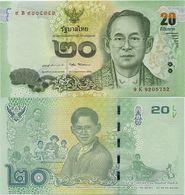 THAILAND       20 Baht       P-New      ND (2017)        UNC  [ Sign. 87 ] - Thailand