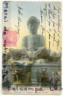 - Japon -  Kobe - DAIBUTSU -  Of Nofukuji Temple, épaisse, écrite, 1909,  Via Sibéria, BE, Scans, - Kobe