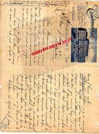 SUEDE-SWEDEN- STOCKHOLM- RARE LETTRE MANUSCRITE HOTEL CONTINENTAL- 1910 A J. SORIN  LE MORTIER - Factures & Documents Commerciaux