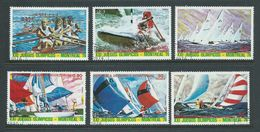 Equatorial Guinea 1974 Montreal Olympic Games Yacht Racing Part Set 6 FU - Summer 1976: Montreal