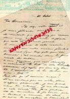 SUEDE-SWEDEN- STOCKHOLM- RARE LETTRE MANUSCRITE GRAND HOTEL 1905 - Factures & Documents Commerciaux