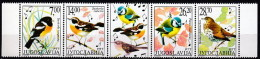Yugoslavia 2002 (MNH)  -  Yv 2006-9 - European Stonechat / Winchat / Eurasian Blue Tit /  Song Thrush - Climbing Birds