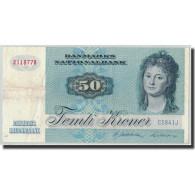 Billet, Danemark, 50 Kroner, 1984, KM:50f, TTB+ - Danemark