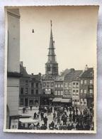 Foto Photo - ATH Aat - TRAVAUX COQ TOUR DE L'EGLISE - WERKEN HAAN KERKTOREN - SAINT-MARTIN - GRAND PLACE - 1934 - 23x17 - Ath