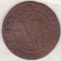 City Of Paderborn. 6 Pfennig 1718. Franz Arnold De Metternich. KM# 197 - Small Coins & Other Subdivisions