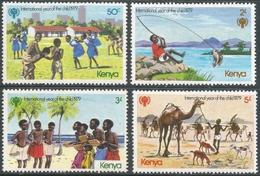 Kenya. 1979 International Year Of The Child. MH Complete Set. SG 147-150 - Kenya (1963-...)