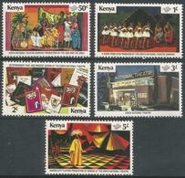 Kenya. 1979 Kenya National Theatre. MH Complete Set. SG 151-155 - Kenya (1963-...)