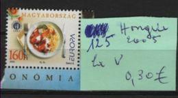 125 Hongrie 1v 2005 - 2005