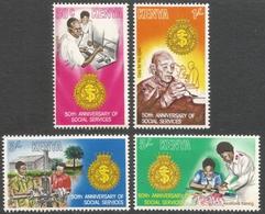 Kenya. 1979 50th Anniv Of Salvation Army Social Services. MH Complete Set. SG 156-159 - Kenya (1963-...)