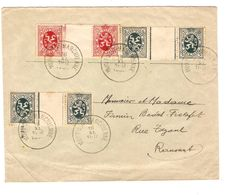 TP TB IN3(2)-IN5 S/L.c.mont-s/Marchienne 18/11/1930 V.Ransart 1612 - Belgique