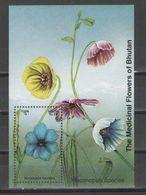 Bhutan - FLOWERS 1993 MNH - Bhutan