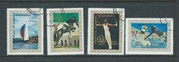 Equatorial Guinea 1976 Montreal Summer Olympics Set 4 FU - Summer 1976: Montreal