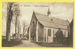 * Brugge - Bruges (West Vlaanderen) * (Th. Van Den Heuvel, Nr 28) L'église Du Béguinage, Kerk Begijnhof, Nunnery, TOP - Brugge