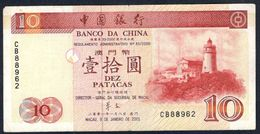 Macau - 10 Patacas 2001 - P101a - Macau