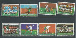 Equatorial Guinea 1977 Argentine Soccer World Cup Set 8 FU - Coupe Du Monde