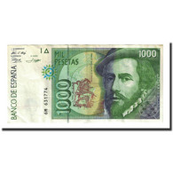 Billet, Espagne, 1000 Pesetas, 1992-10-12, KM:163, TTB+ - [ 4] 1975-… : Juan Carlos I