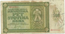 Croatia 500 Kuna 1941. - Croatia