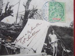 """MARTINIQUE - """" L' OBSERVATOIRE DU MORNE DES CADETS APRES LE CYCLONE DU 8 AOUT 1903 """" - Other"""