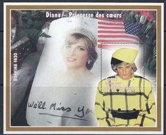Burkina Faso - DIANA 1998 MNH - Burkina Faso (1984-...)