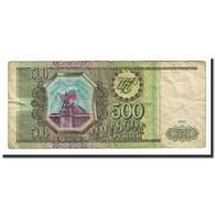 Billet, Russie, 500 Rubles, 1993, KM:256, B+ - Russie