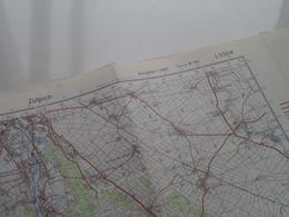 ZÜLPICH ( Ausgabe 1-DMG Serie M 745 - L5304  ) Anno 1960 - Schaal / Echelle / Scale 1: 50.000 ( Stafkaart : Zie Foto's ) - Geographical Maps