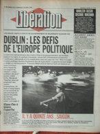 Libération 28/29 Avril 1990 - Les Défis De L'Europe - Harlem Désir - Emilio Munoz - Vietnam - 1950 - Oggi
