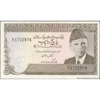 TWN - PAKISTAN 28b - 5 Rupees 1976-82 Prefix YA - Staple Holes - Signature: A.G. N. Kazi UNC - Pakistan