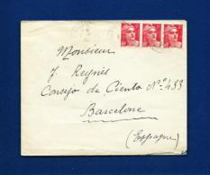 Francia - Sobre Circulado - Marcofilia (sobres)