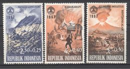 1967  Yt 625/28 ** -  Cataclysmes - Indonesia