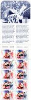 """PIA-Can-1997:25° Anniversario Della """"Serie Del Secolo"""" Per La Vittoria Del Canada Sull' URSS  -  Carnet - (Yv C 1529) - Hockey (su Ghiaccio)"""