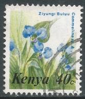 Kenya. 1983 Flowers. 40c Used. SG 260 - Kenya (1963-...)