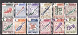 1967 12 Zegels Tussen  Yt 498 En 511 ** + * + Gest. - Music Instruments Musique    Muziek Instrumenten - Indonesië