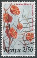Kenya. 1983 Flowers. 2/50  Used. SG 266 - Kenya (1963-...)