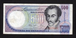 Banconota  Venezuela - 500 Bolivares 1987 - Venezuela