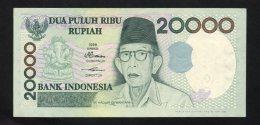 Banconota  Indonesia 20000 Rupie 1998 - Indonesia