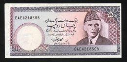 Banconota  Pakistan 50 Rupees 1981/82 - Pakistán