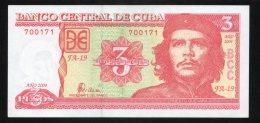 Banconota  Cuba 3 Pesos 2004 - Cuba
