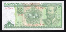 Banconota  Cuba 5 Pesos 2006 - Cuba